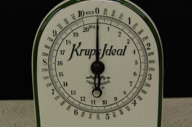 vintage krups scale history