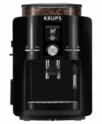 Krups Coffee Maker Reviews Ratings : KRUPS EA82 Espresseria Espresso Machine Review