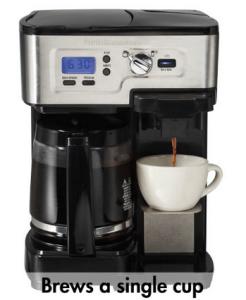 hamilton beach flexbrew coffee maker review