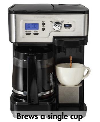 Best Two Way Coffee Brewer Review Hamilton Beach Flexbrew Vs