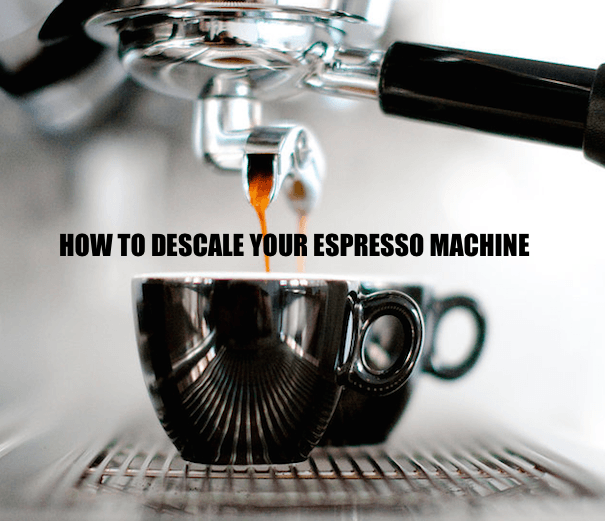 how to descale a breville coffee machine