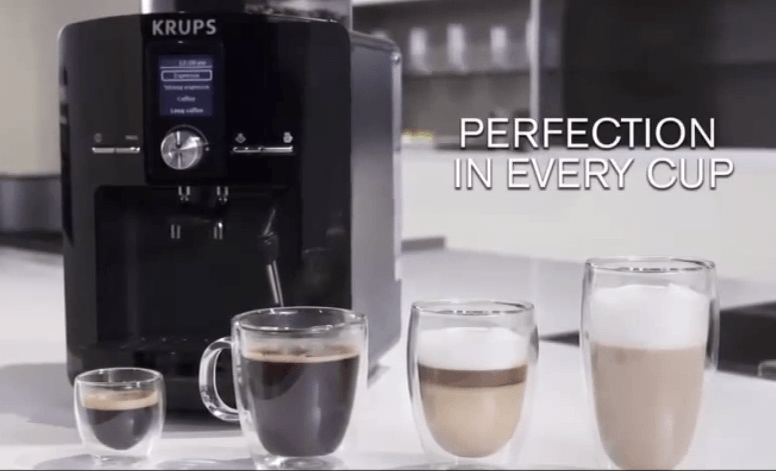 krups espresseria espresso and coffee machine review