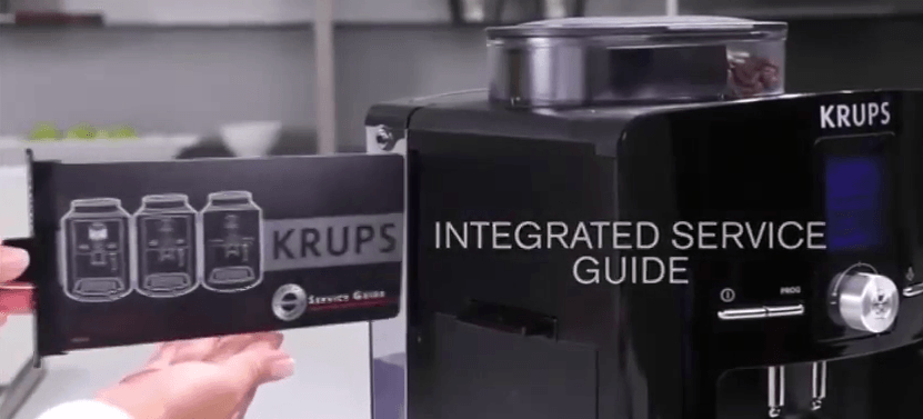 krups integrated service guide