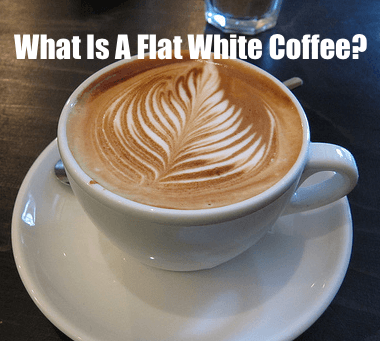 what is a flat white coffee