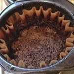 are coffee grounds bad for you