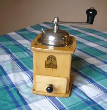 armin trosser antique coffee grinder history + review