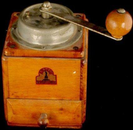 armin trosser coffee grinder history vintage