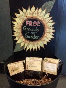 coffee grounds as compost