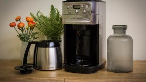 cuisinart grind and brew coffee maker grinder combo