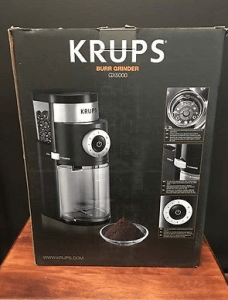 krups gx5000 still in the box
