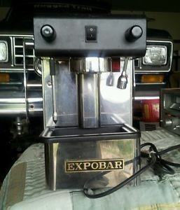 expobar office control espresso machine review