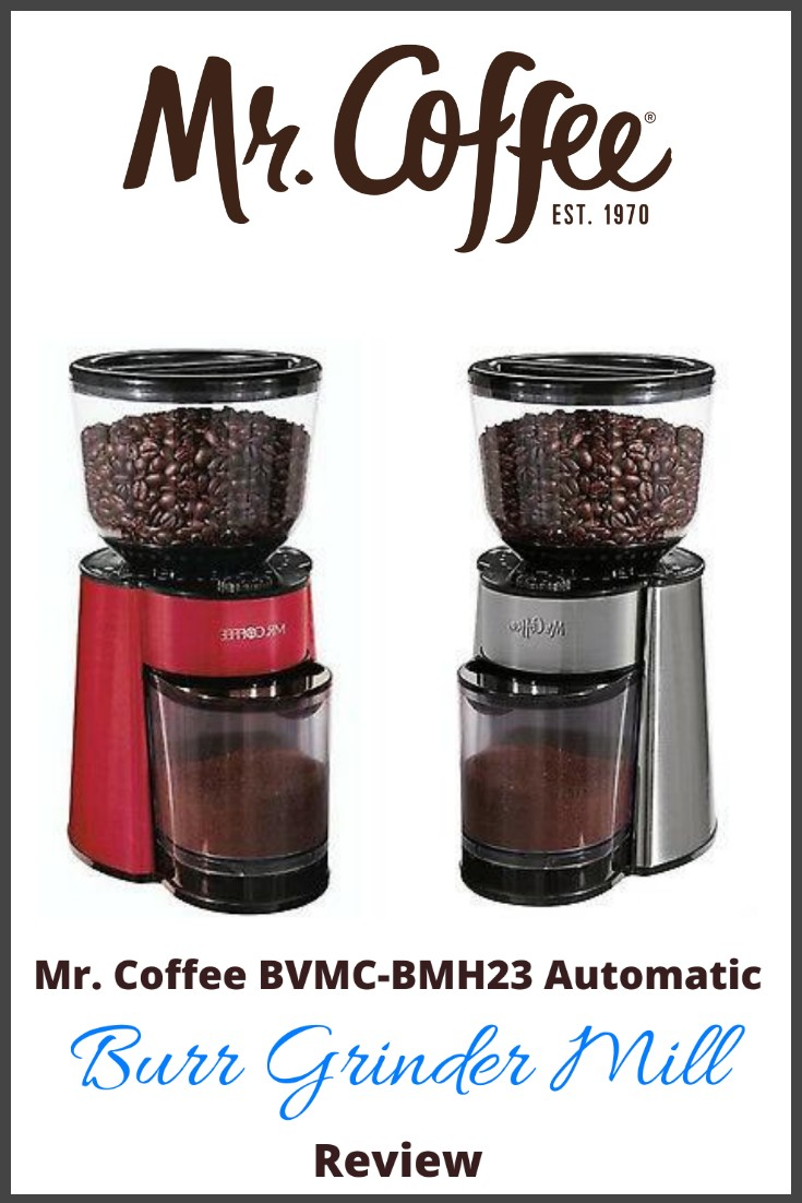 mr coffee burr grinder