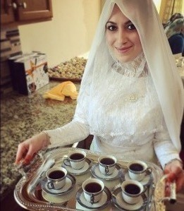 turkish coffee serving sets