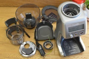 breville smart grinder cleaning