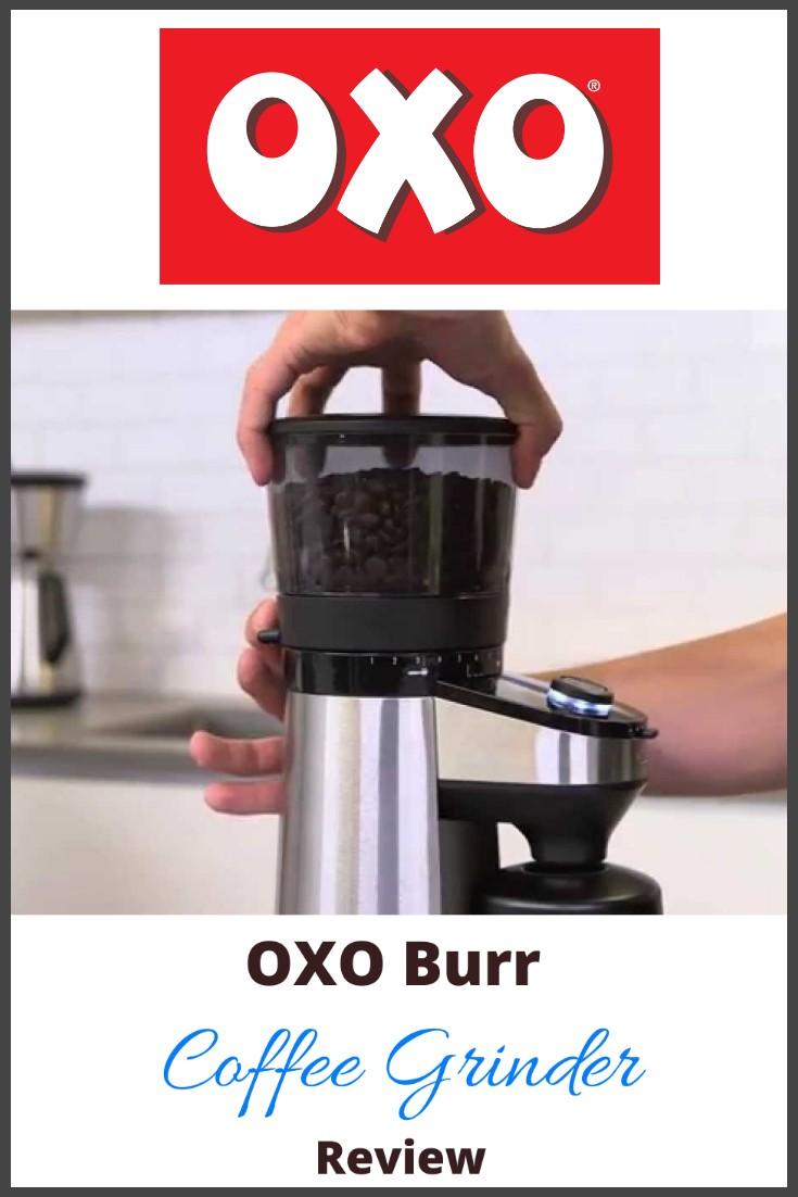 oxo burr coffee grinder