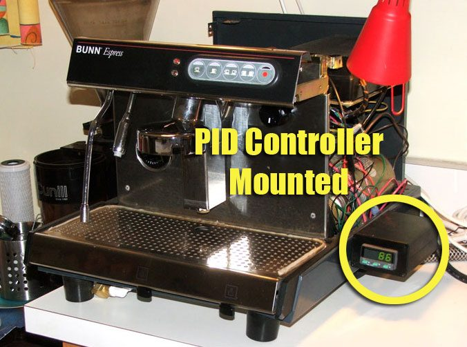 pid mounted controller