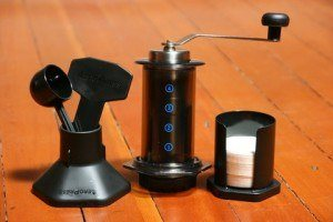 grinding for aeropress porlex mini