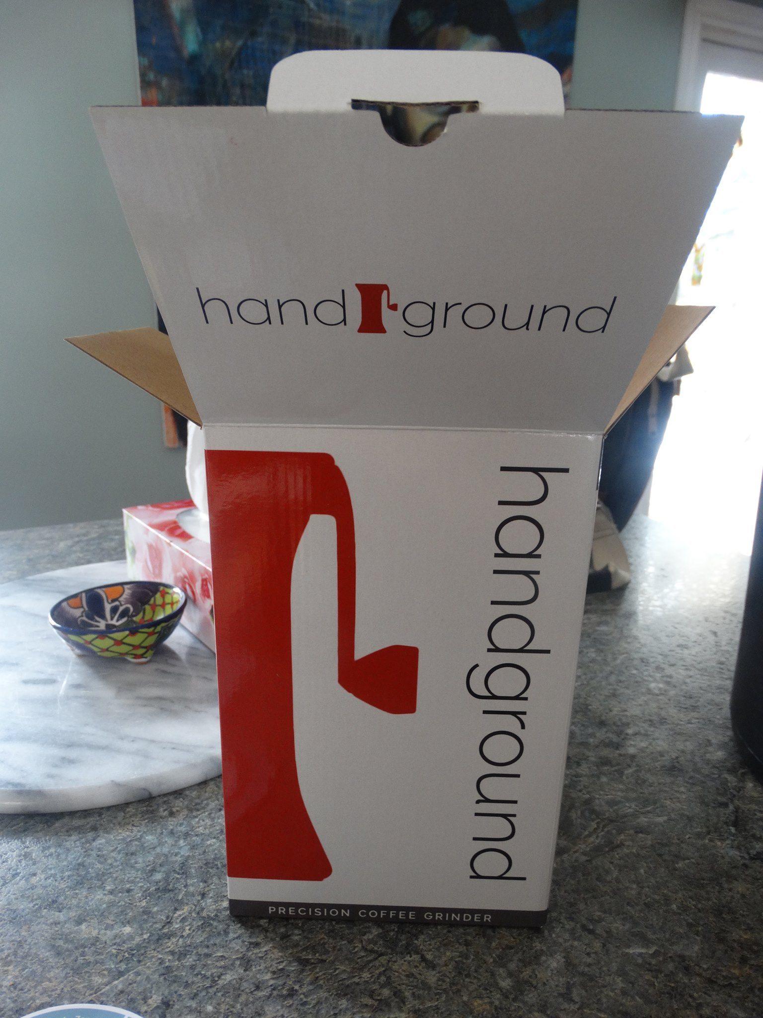 handground grinder packaging