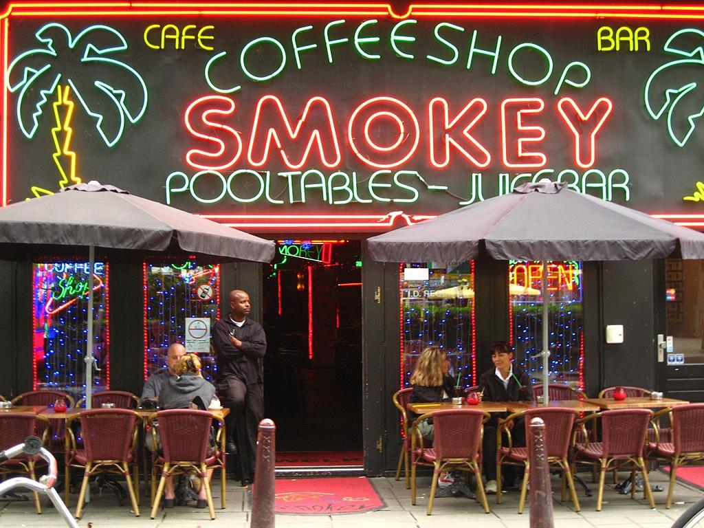 coffeeshop smokey cafe bar