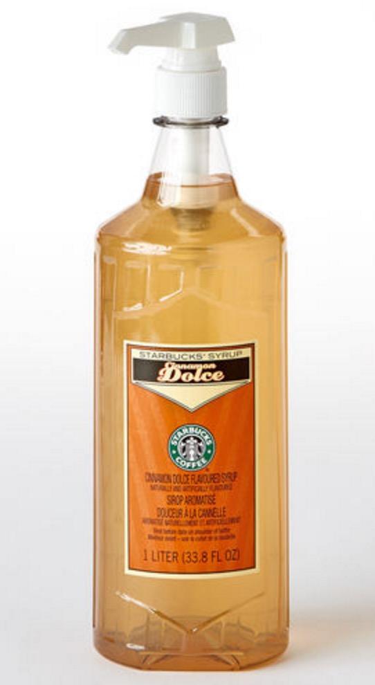 starbucks cinnamon dolce syrup