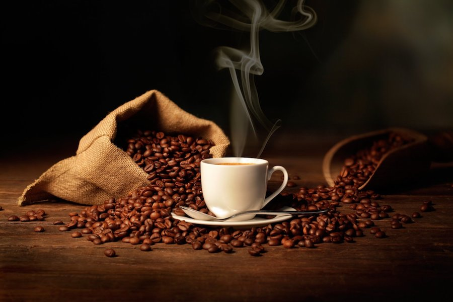 coffee bean aroma