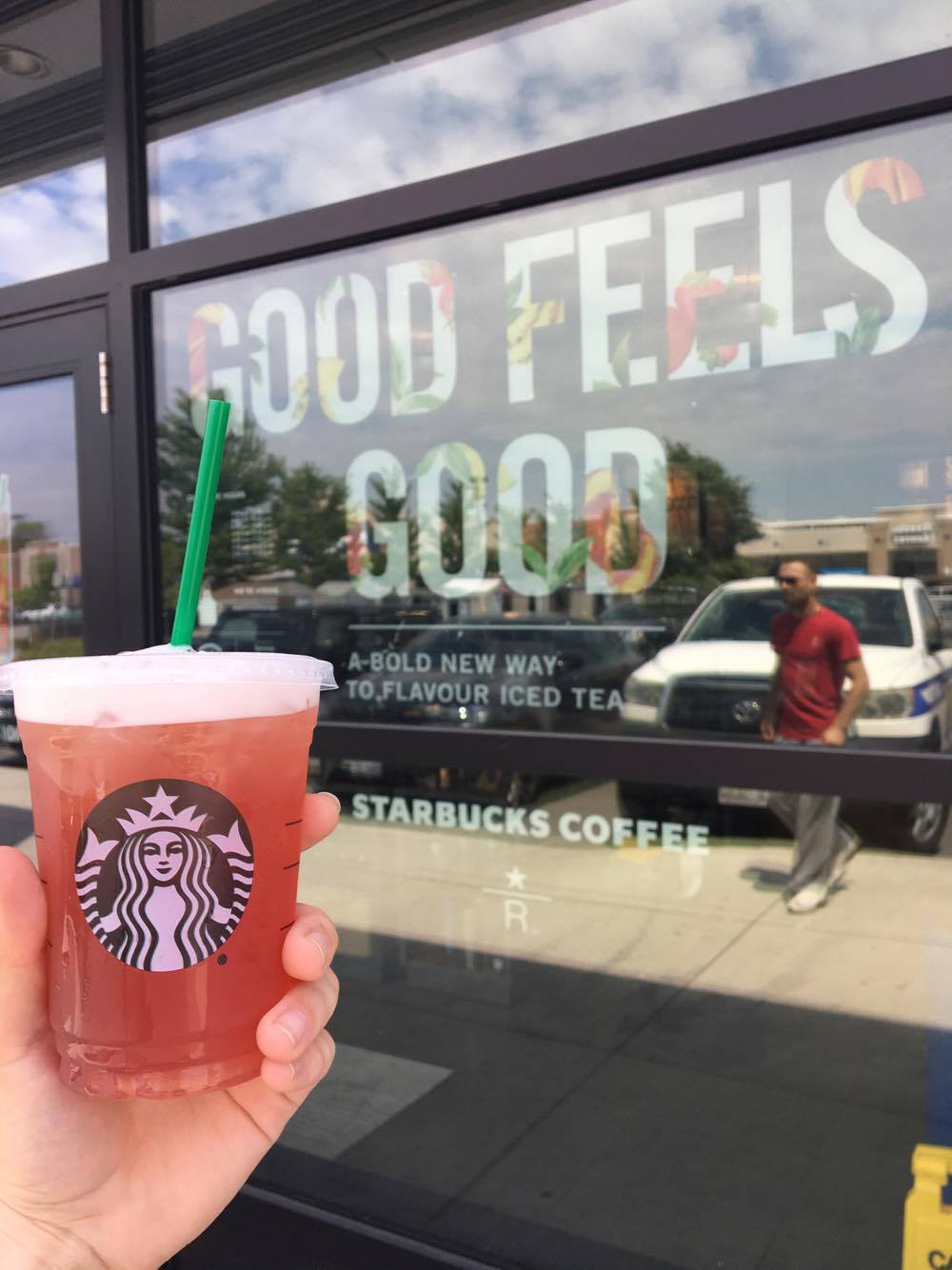 Starbucks Teavana Peach Green Tea Review