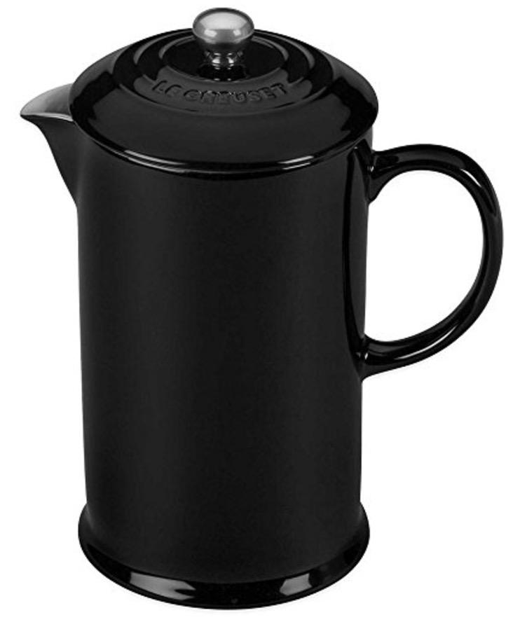 black Le Creuset Stoneware