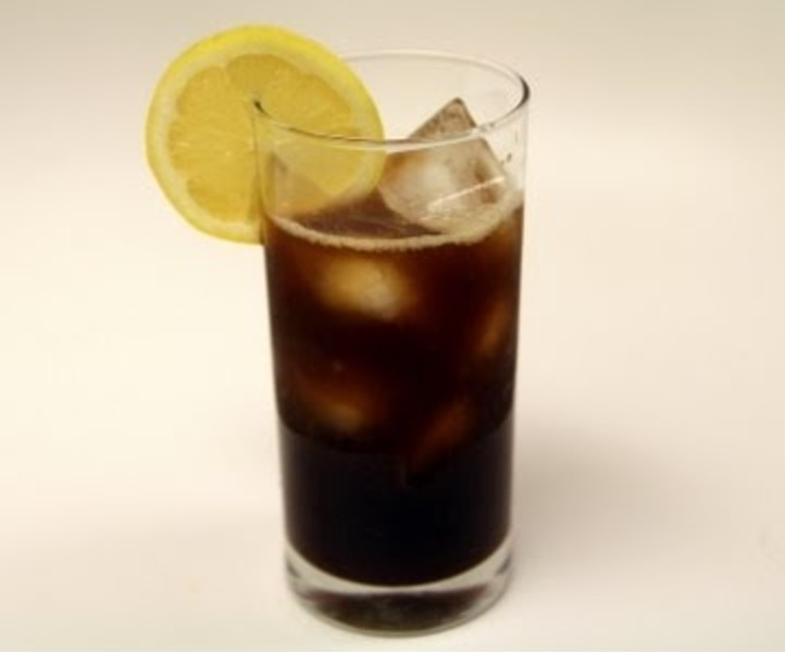 Mazagran coffee lemonade