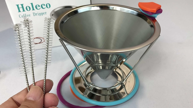 metal reusable coffee filter