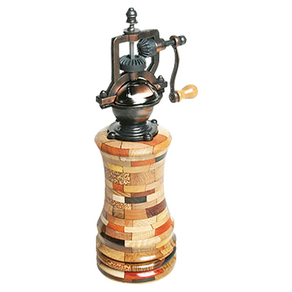 antique pepper mill