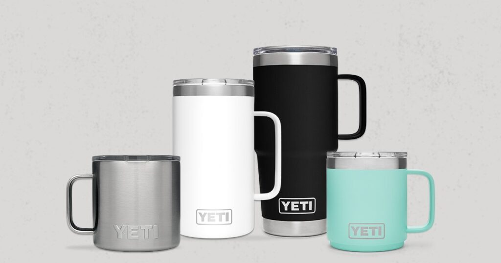 yeti outdoor mug
