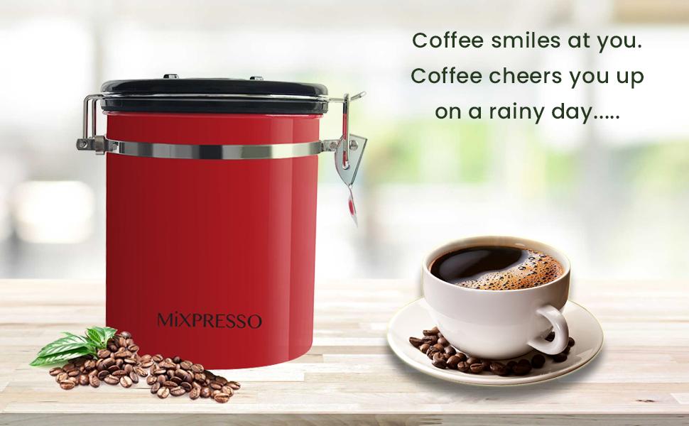 mixpresso coffee container